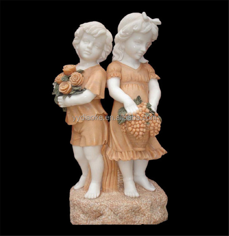 Boy And Girl Garden Statue, Boy And Girl Garden Statue Suppliers And  Manufacturers At Alibaba.com