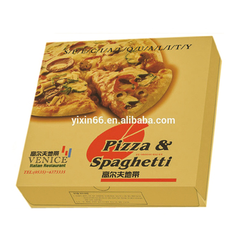 Paper material labels reusable pizza box