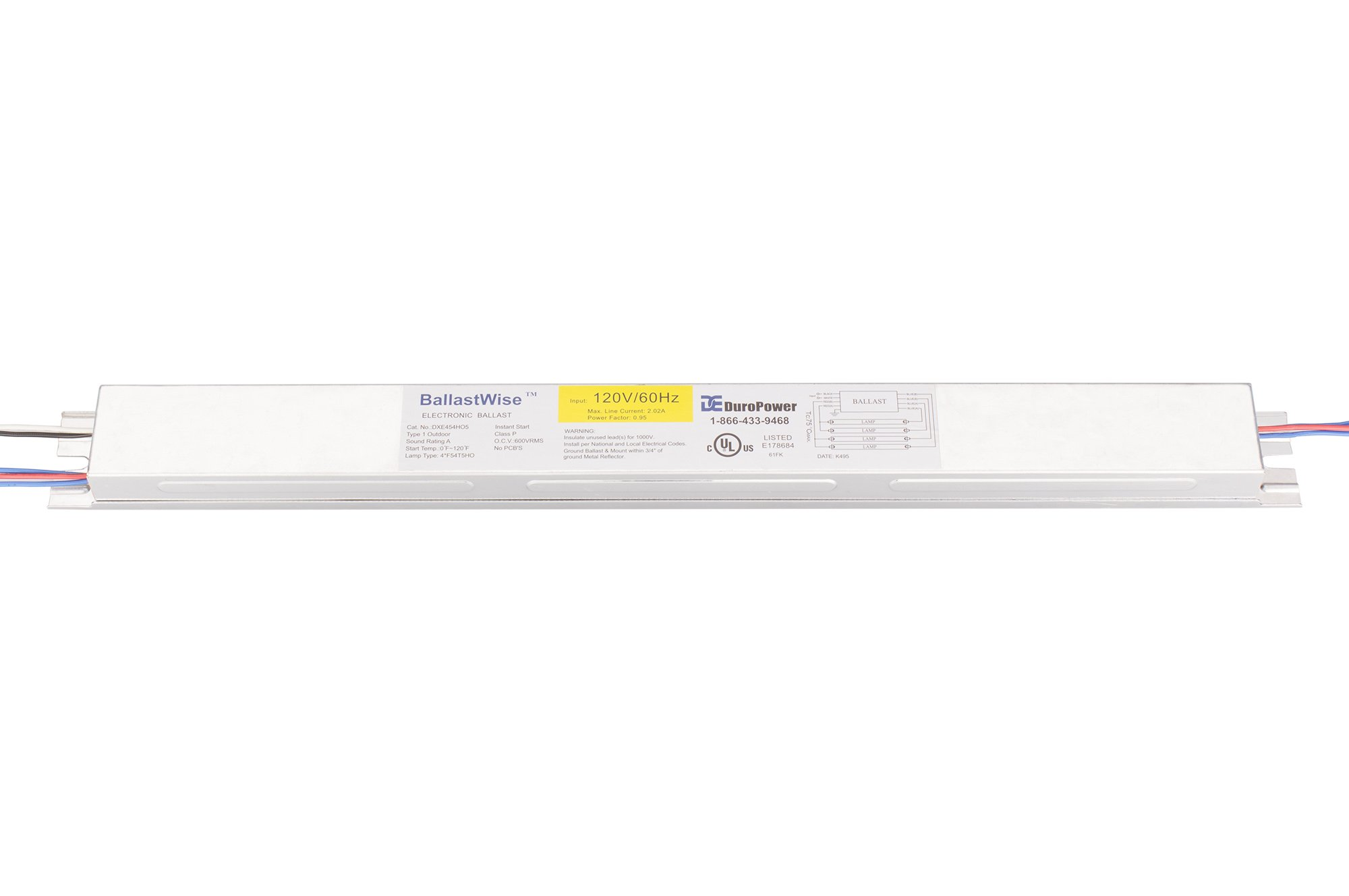 Get Quotations · BallastWise DXE454HO5 Ballast operate 4x54W T5 HO bulbs  for your grow lights ballast replacement