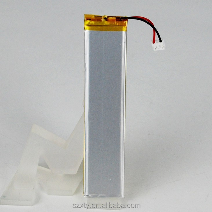 3.7V nominal capacity li polymer battery 40 x20