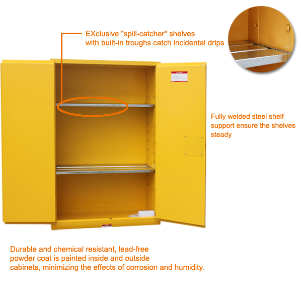 Steel Flammable Combustible Liquids Safety Cabinet