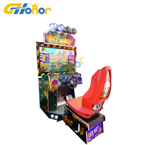 Attractive Car Racing Simulation Coin Operated Dirty Driving Games Indoor Video Arcade Games for Game Park Hot Sale In Algeria