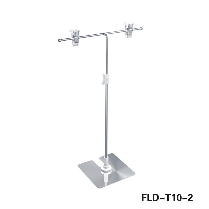 Supermarket New product Telescopic Poster Holder for showing discount information