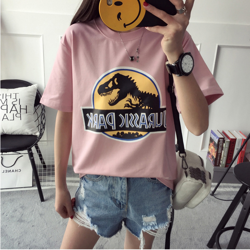 2017 New Brand Modal T Shirt Police Dept Design T Shirts: Popular Dinosaur T Shirts-Buy Cheap Dinosaur T Shirts Lots