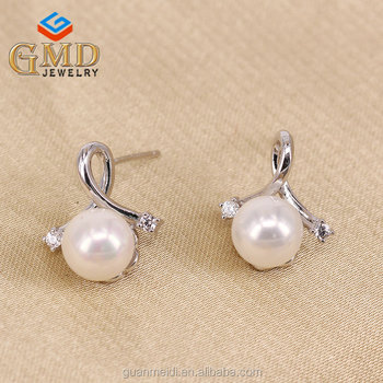 Fashion Jewellery Made In China High Quality Elegant Sterling Silver Unusual Earrings