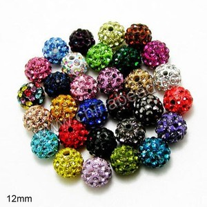 China supplier bead, European beads rhinestone spacer wholesale