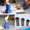 JC Small Electric Aluminum Melting Furnace with ISO CE Certification