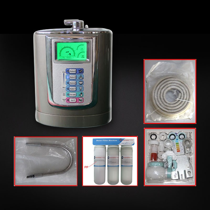 High Performance Alkaline Water Ionizer HK-8016 For Home Use With Low Price