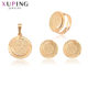 65196 Xuping 18K gold color dubai gold women Jewelry sets with good quality