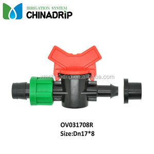 Plastic Irrigation PE pipe Connector for drip and sprinkler irrigation
