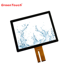 projected capacitive touch panel 19 inch water resistant with multi touches