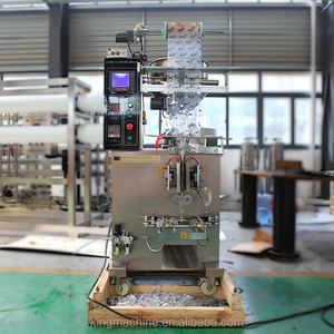 Low Price Automatic Sachet Bag Liquid Filling Machine Equipped with date printer - commission fee for referrer / middleman