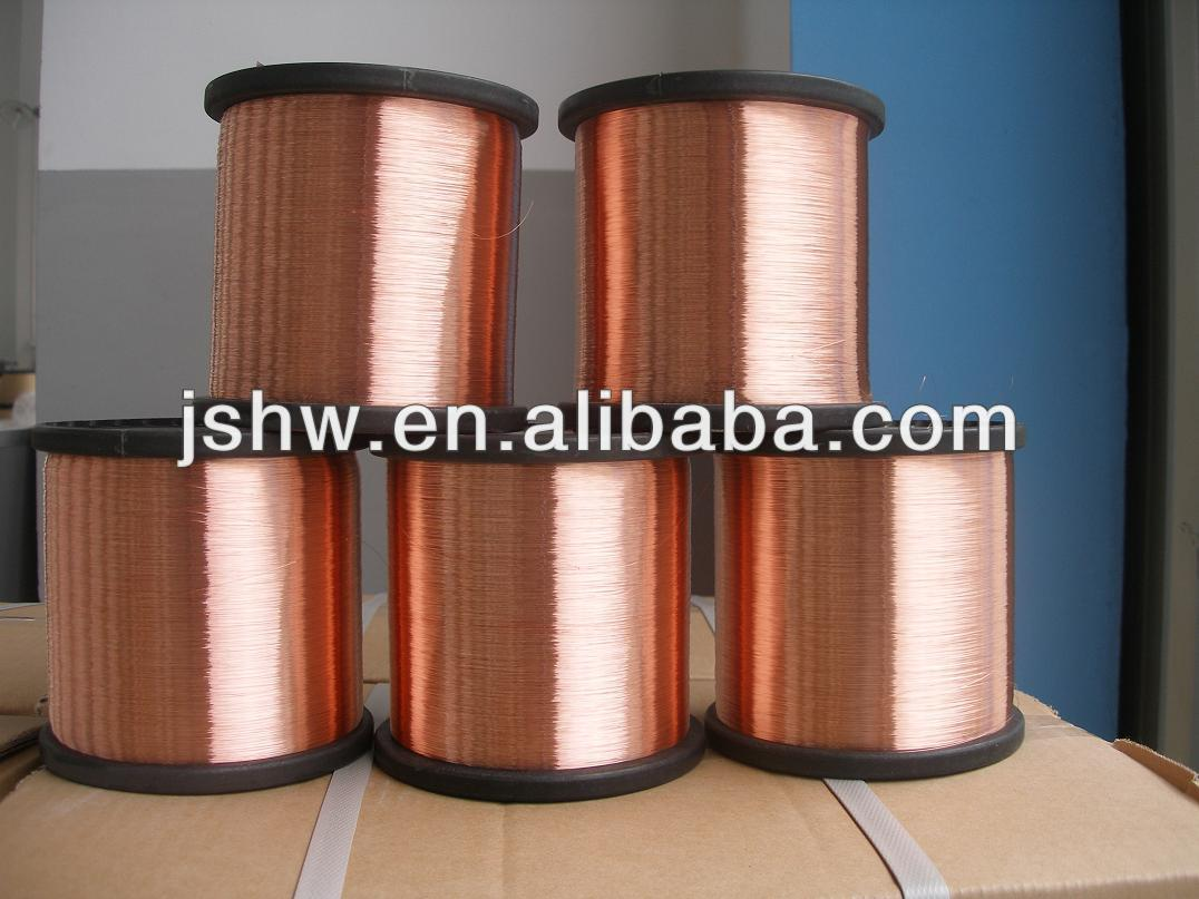 copper coated aluminum wire