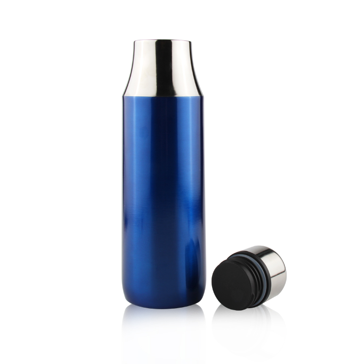 Double Wall Flask Vacuum Insulted Stainless Steel Thermos bottle Travel Thermos Vacuum Flask with leakprood lids Keep Hot&cold