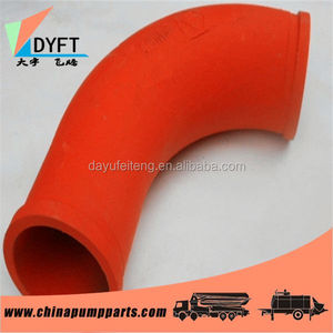 Schwing concrete pump pipe elbow