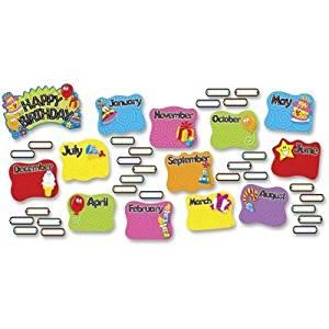 TREND T8709MP - Happy Birthday Mini Bulletin Board Set-TEPT8709MP