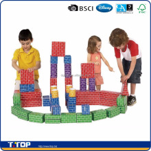 Customize education DIY Cardboard Bricks toys