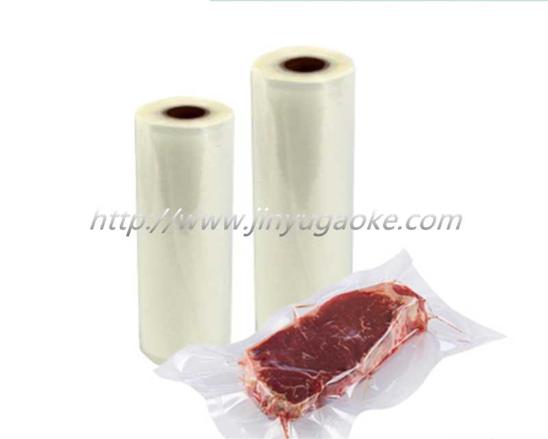 Co-extruded film plastic packaging T-bone boxes
