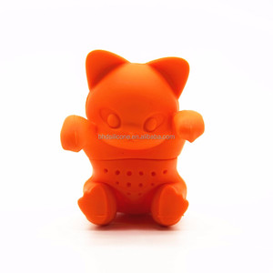 2017 Novelty Cat Tea Infuser,Silicone Kitty Tea Strainer,Green Tea Filter