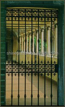 Gyd 15g0072 Art Gallery Corridor Back Door Wrought Iron Gate Designs