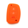 New design cool silicon promotional key bag hyundai remote key case 2017