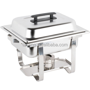 Stainless Steel Chafing Dish Burner Full Size 8 Quart Chafer Dishes