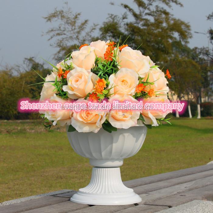 Artificial Silk Wedding Flower Rosesilk Cheap Wholesale Artificial