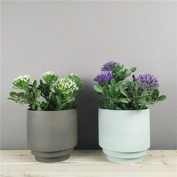 Hot selling factory price new products matte home decoration garden wedding wholesale clay flower pots
