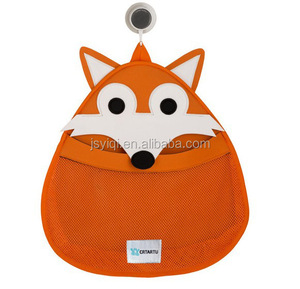 Fox Choice High Quality Suction Cup Net Baby Bath Toy Organizer Storage bag