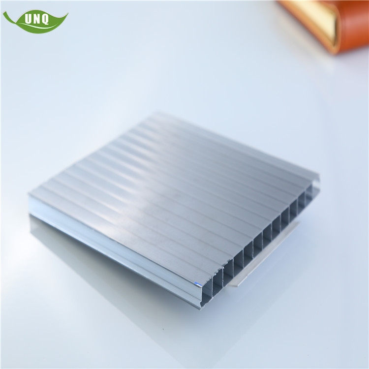 10mm thick polycarbonate hollow sheet high quality building material price is appropriate