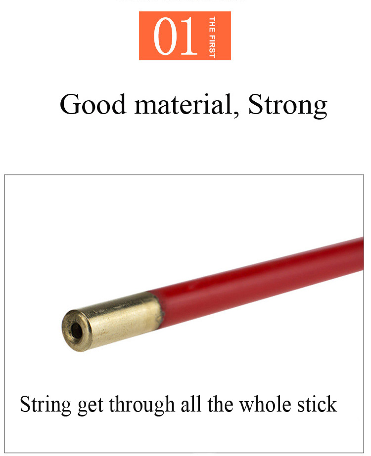 high quality string get through whole juggling diabolo stick