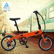 unique designed easy electric folding bike/bicycle certified according to EN standard 15194