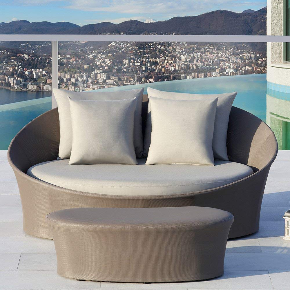 Ove Decors Costa Rica Outdoor Daybed, Taupe