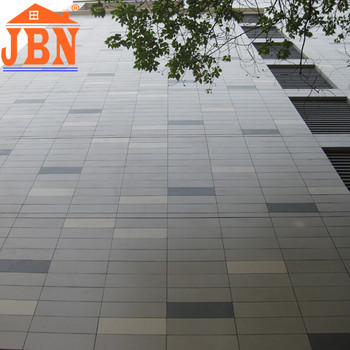 Matte Finished Gray Color Cement Floor Tiles For Office Wall Design