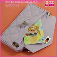 Newest Girls Armband handbag Hybrid Card Pack Silicon Soft Phone Case for iPhone6