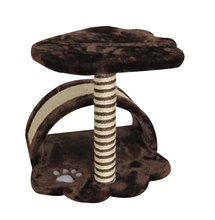 cat scratching tower with paw printed cat craft cat tree Prefab homes products PETLIKE supply