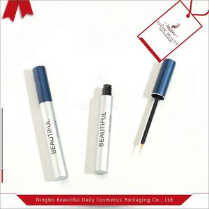 Retractable eye pencil bottle. double end eyeliner tube, double end eyeliner tube, cylindrical eye liner bottle
