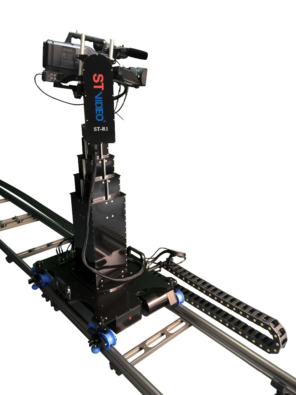 Professional Telescopic Crane Robot Camera Crane Dolly