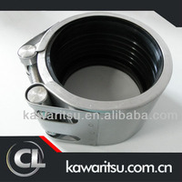 3 inch pipe clamp/exhaust pipe muffler clamp/quick-pipe clamp