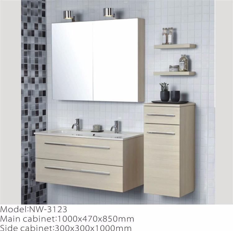 China Manufacturer Led Light Mirror Melamine Bathroom Wall