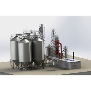 Big capacity on sale from factory low cost 10ton 20ton 30ton 40ton 50ton small steel silo