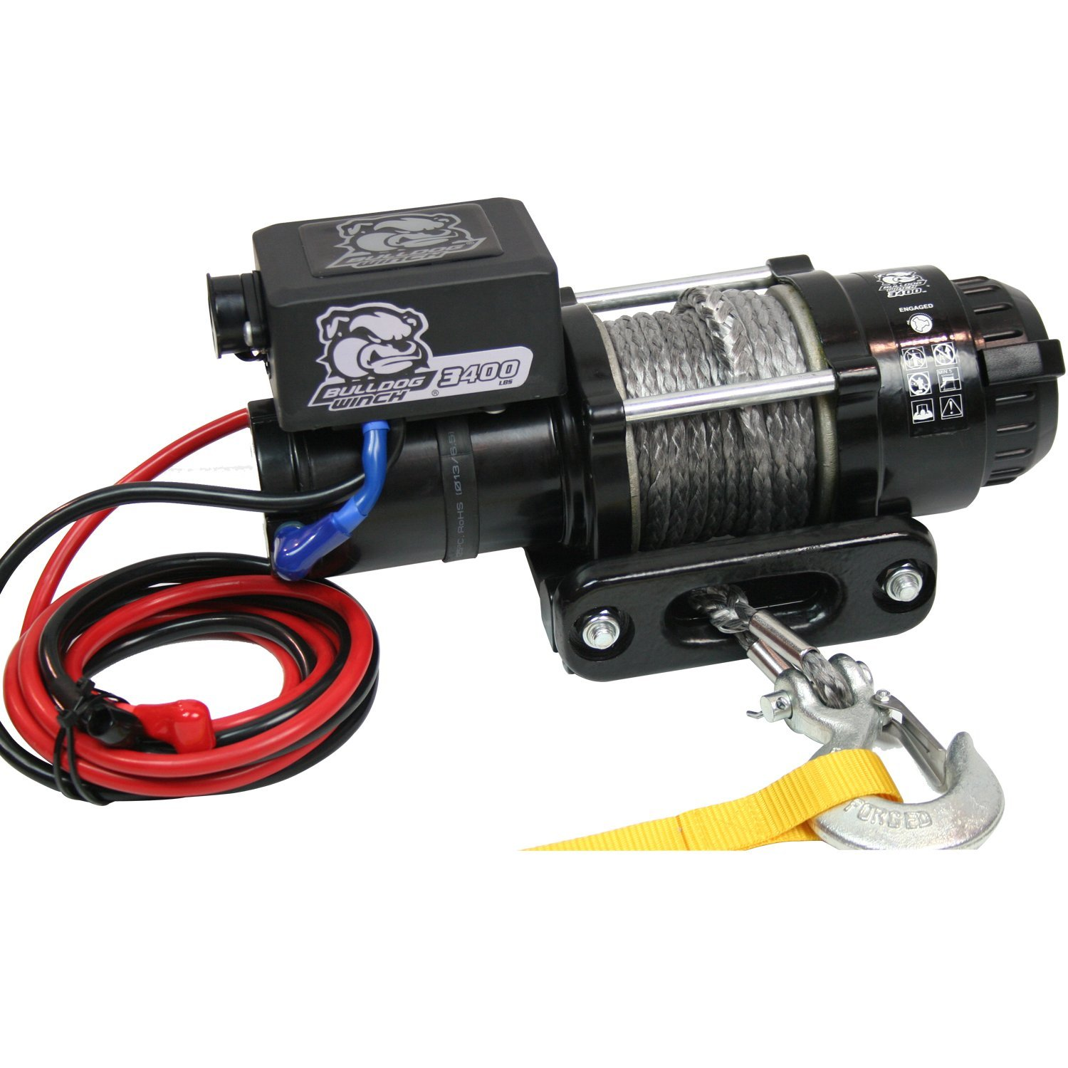 Cheap Low Trailer Find Deals On Line At Alibabacom Wiring Diagram In Addition Warn Winch Bulldog Get Quotations 15018 3400lb Utility With 50 Ft Synthetic Rope