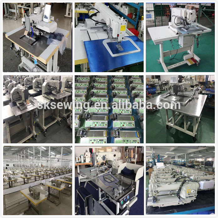 Full automatic  fleeces Hoody pocket attaching setter sewing machines for Hoodie