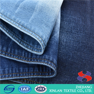 cotton polyester shirt fabric elastic jeans bamboo pants denim fabric textile lycra