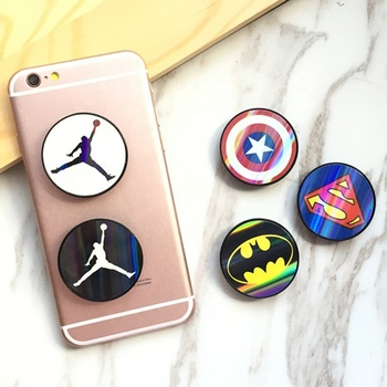 Best Quality Custom Blank UP Phone Socket Holder with designer Logo Printing Phone Sockets Grip