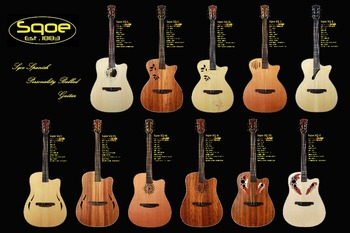 Sqoe Characteristic Stage Series Acoustic Guitar Buy 41 Inch High