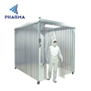 Manufacturers supply clean sheds/dust-free shed with FFU purifier