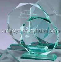 2014 Beautiful Blank Crystal Glass Award Optical Crystal Awards