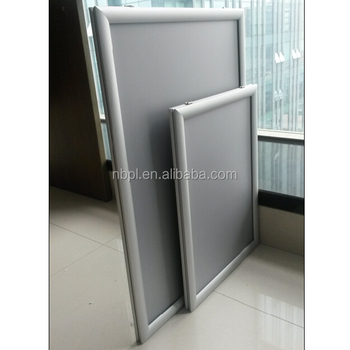 sharp mitred corner window hang up double side poster clip frame a0a1a2 - Window Clip Frame