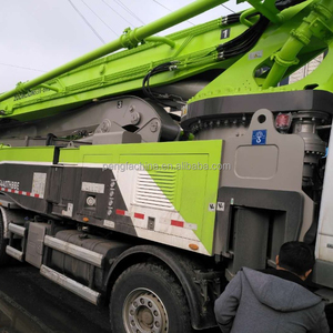 ZOOMLION Mobile Trailer Concrete Pump 53m